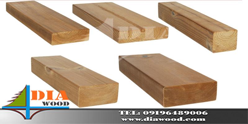 چوب ترمووود نما