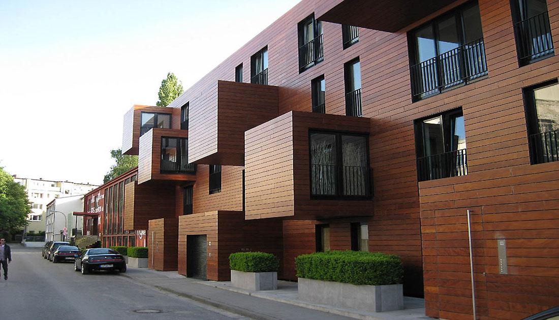 ترموود چوب نما ساختمان